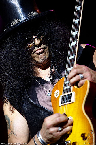 Guitariste Slash